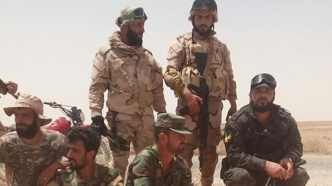 Thiếu tướng Sushail Al-Hassan, tư lệnh trưởng lực lượng Tiger trên chiến trường. Ảnh minh họa Masdar News