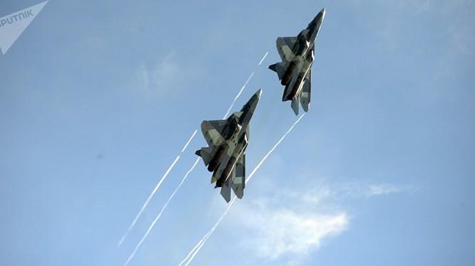 Máy bay tiêm kích tàng hình thế hệ 5 của Nga. Ảnh minh họa Military Wach Magazine