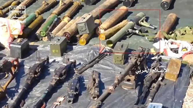 Rất nhiều vũ khí trang bị, do lực lượng kháng chiến Yemen thu giữ từ từ liên minh quân sự do Ả rập Xê út dẫn đầu. Ảnh minh họa South Front