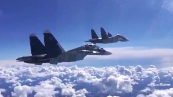 Không quân Nga xuất kích trên không phận miền bắc Hama. Ảnh minh họa South Front