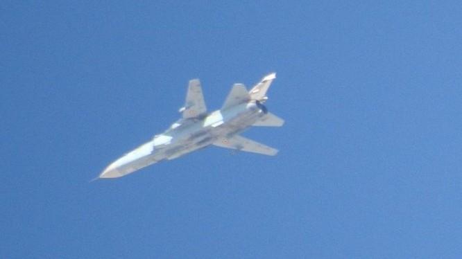 Không quân Syria không kích trên chiến trường Idlib, Hama, Aleppo. Ảnh minh họa South Front