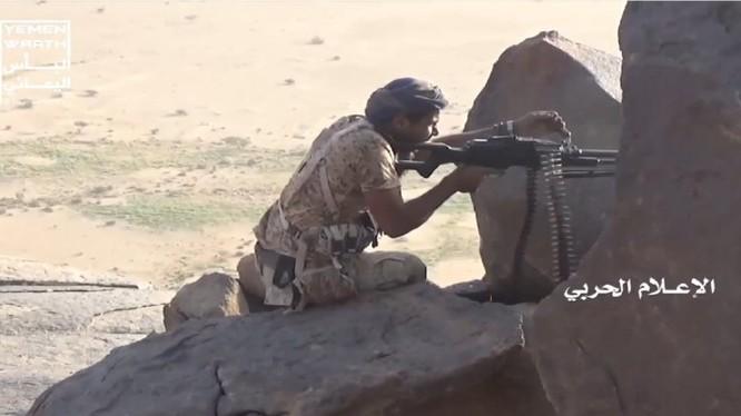 Chiến binh Houthi, chiến đấu trên chiến trường Ả rập Xê út. Ảnh minh họa South Front