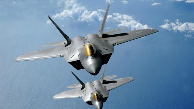 Máy bay tiêm kích tàng hình thế hệ 5 F-22, ảnh minh họa The Drive