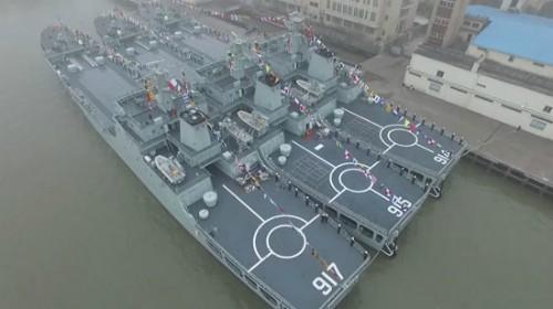 Tàu chiến của Hạm đội Đông Hải, Hải quân Trung Quốc.