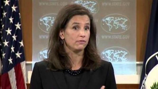 Bà Elizabeth Trudeau, Chủ nhiệm Văn phòng thông tin Bộ Ngoại giao Mỹ