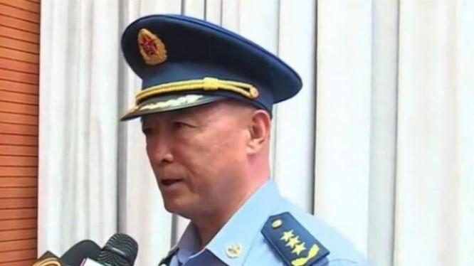 Mã Hiểu Thiên, Thượng tướng, Tư lệnh Không quân Trung Quốc. Ảnh: CCTV