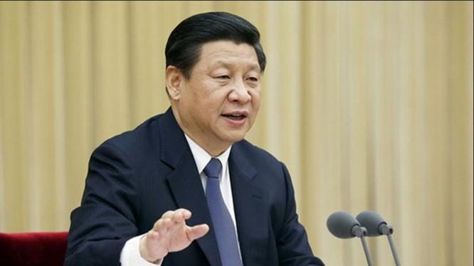 Chủ tịch Trung Quốc Tập Cận Bình tỏ thái độ kiên quyết chống tham nhũng. Ảnh: Đại Công báo, Hồng Kông.