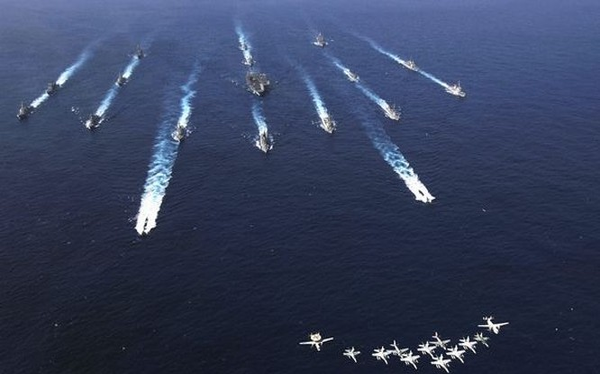 Cụm tấn công tàu sân bay Mỹ (ảnh tư liệu)