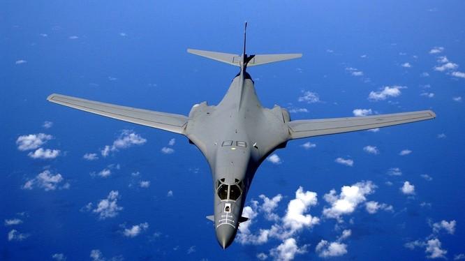 Máy bay ném bom chiến lược siêu âm B-1 Không quân Mỹ (Ảnh tư liệu)