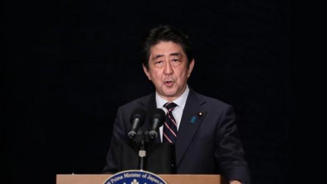 Thủ tướng Nhật Bản Shinzo Abe. Ảnh: Tin tức Tham khảo, Trung Quốc.