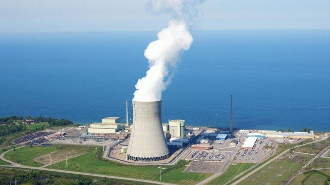 Nhà máy điện hạt nhân (ảnh minh họa).