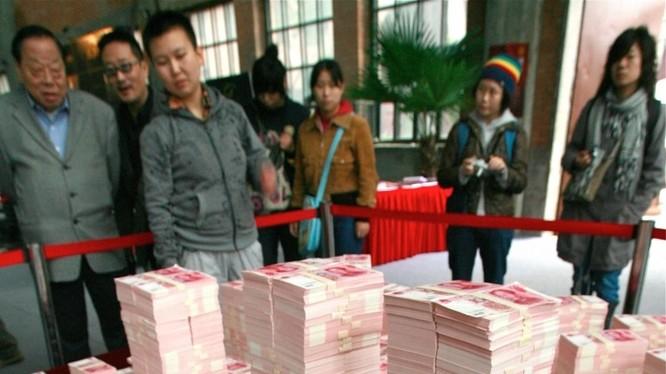 Tài sản thu được từ các vụ án tham nhũng lớn ở Trung Quốc.