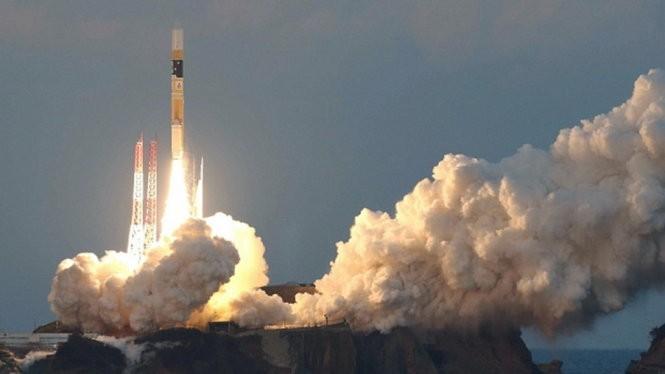 Công nghệ phóng vệ tinh của Nhật Bản (ảnh minh họa).