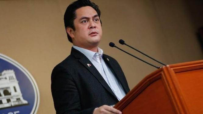 Martin Andanar, người phát ngôn Phủ Tổng thống Philippines. Ảnh: Politics.com.ph