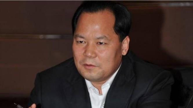 Vương Học Phong, Bí thư thành ủy Ulaanchab, khu tự trị Nội Mông Cổ, Trung Quốc đã bị bắt. Ảnh: Bành Bái.