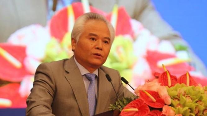 Ngô Sĩ Tồn, Viện trưởng Viện nghiên cứu Biển Đông Trung Quốc phát biểu tại Diễn đàn Hương Sơn. Ảnh: Cri Online/Chinadaily.