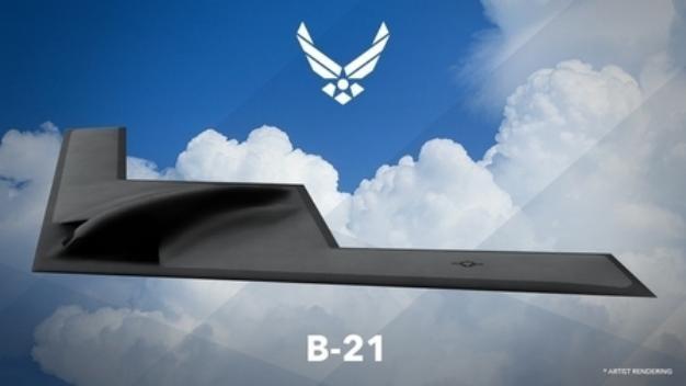 Hình ảnh thiết kế máy bay ném bom tầm xa B-21 do Không quân Mỹ công bố (ảnh tư liệu)