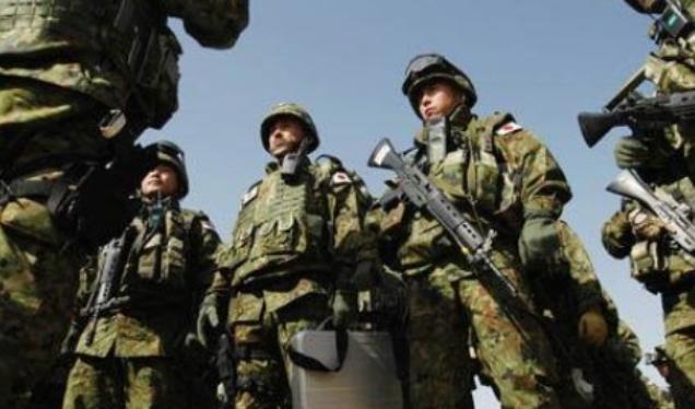 Lực lượng Phòng vệ Nhật Bản. Ảnh: Sina