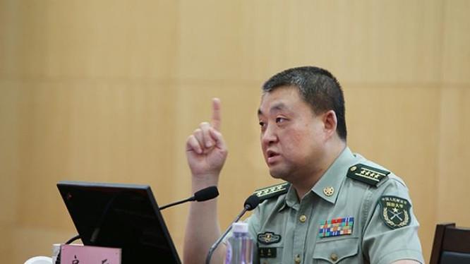 Nhà nghiên cứu Phòng Binh, Đại học Quốc phòng Trung Quốc (Ảnh tư liệu)