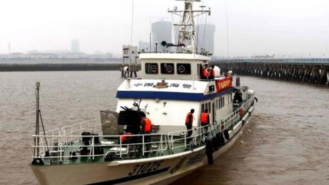 Tàu cảnh sát biển Trung Quốc. Ảnh: Cankao
