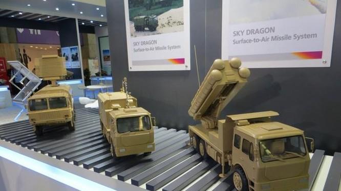 Hệ thống tên lửa đất đối không Sky Dragon Trung Quốc. Ảnh: Defensetech