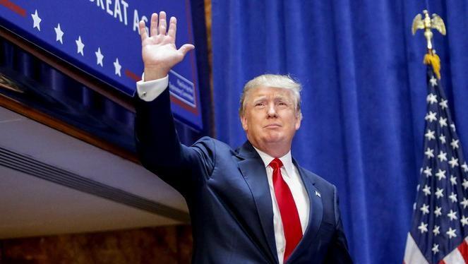 Tỷ phú Donald Trump đắc cử Tổng thống Mỹ.