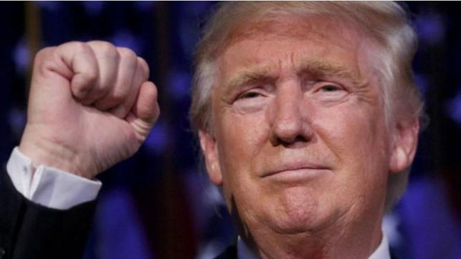 Ông Donald Trump đắc cử Tổng thống Mỹ.