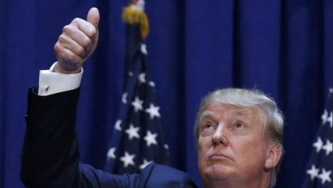 Tổng thống đắc cử Mỹ Donald Trump. Ảnh: Sina
