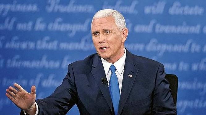 Ông Mike Pence, Phó Tổng thống đắc cử Mỹ. Ảnh: Minh báo