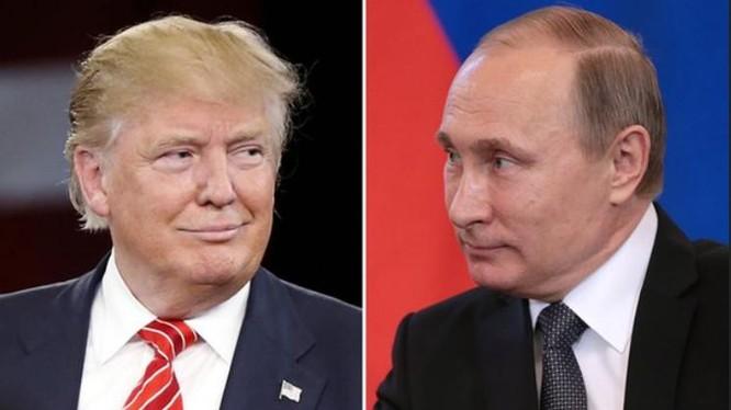 Tổng thống đắc cử Mỹ Donald Trump và Tổng thống Nga Vladimir Putin. Ảnh: The Guardian