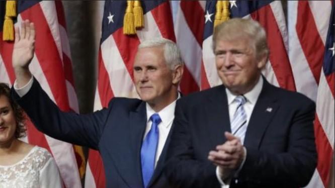 Tổng thống và Phó Tổng thống đắc cử Mỹ Donald Trump và Mike Pence. Ảnh: Business Insider