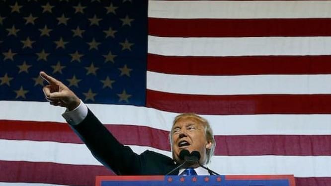 Tổng thống đắc cử Mỹ Donald Trump. Ảnh: FTchinese