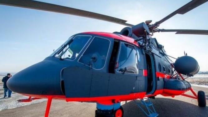Máy bay trực thăng Bắc Cực Mi-8AMTSh-VN. Ảnh: Cankao