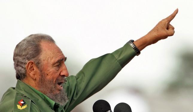 Nhà lãnh đạo Cuba Fidel Castro. Ảnh: Đa Chiều
