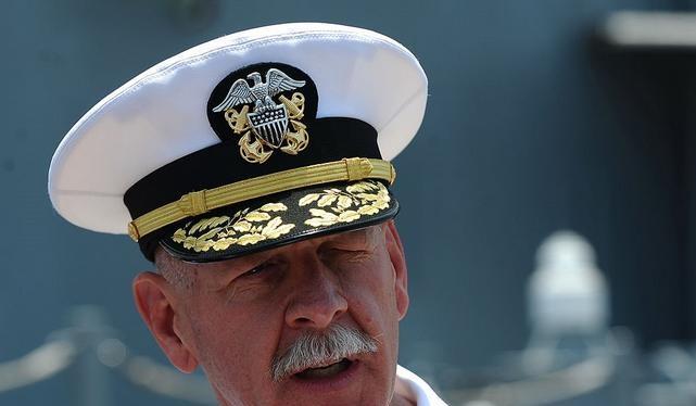 Đô đốc Scott Swift, Tư lệnh Hạm đội Thái Bình Dương, Hải quân Mỹ. Ảnh: Getty Images