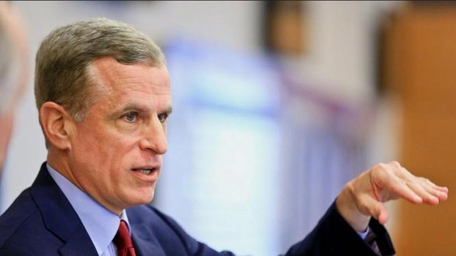Chủ tịch Cục Dự trữ bang Dallas Mỹ, ông Robert Kaplan. Ảnh: Dallas Morning News