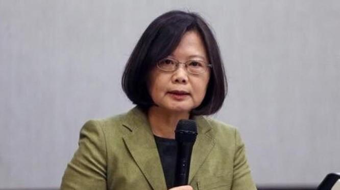 Bà Thái Anh Văn, Tổng thống Đài Loan. Ảnh: Sohu