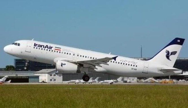 Máy bay chở khách A-320 của Công ty hàng không Iran. Ảnh: Cankao