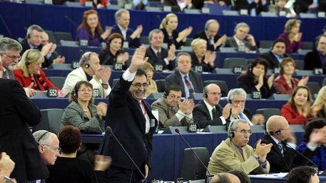 Nghị viện châu Âu. Ảnh: báo Kinh tế Trung Quốc