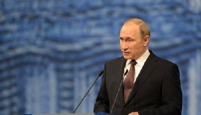 Tổng thống Nga Vladimir Putin. Ảnh: Tân Hoa xã/Cankao