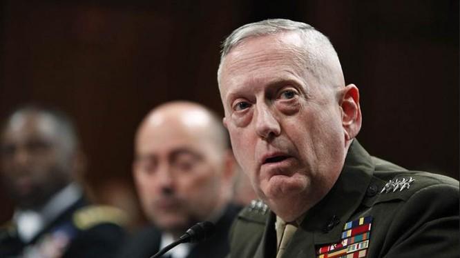 Tổng thống đắc cử Mỹ Donald Trump chọn Thượng tướng Thủy quân lục chiến, ông James Mattis làm Bộ trưởng Quốc phòng. Ảnh: NBC News