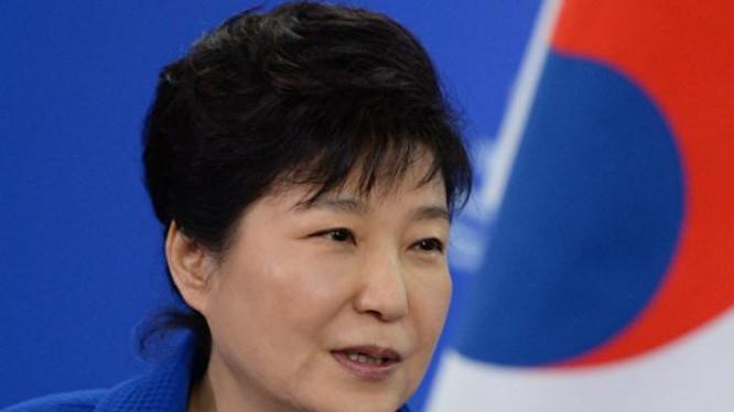 Tổng thống Hàn Quốc, bà Park Geun-hye. Ảnh: Sputnik