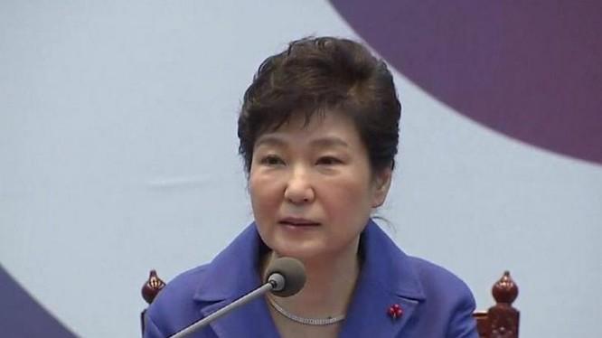 Tổng thống Hàn Quốc, bà Park Geun-hye (ảnh tư liệu)
