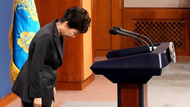Tổng thống Hàn Quốc cúi đầu xin lỗi người dân.