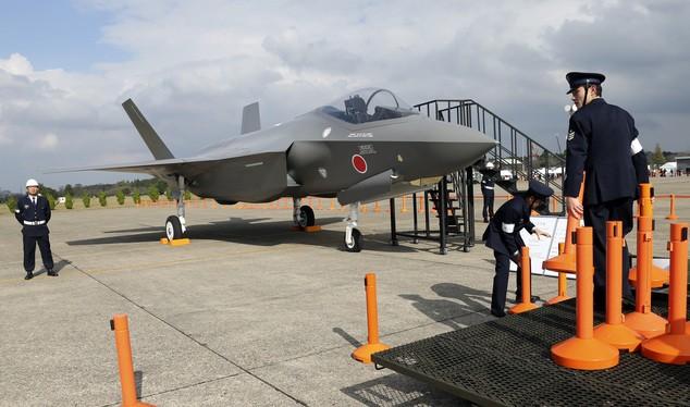 Chiến cơ F-35 của Nhật Bản.