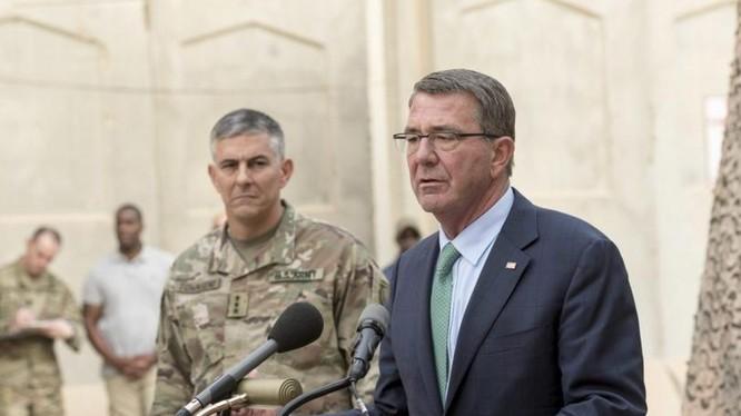 Bộ trưởng Quốc phòng Mỹ Ashton B. Carter (ảnh tư liệu)