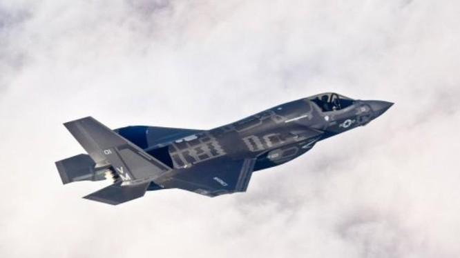 Máy bay chiến đấu F-35B Mỹ. Ảnh: Reuters