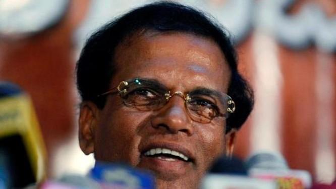Tổng thống Sri Lanka Maithripala Sirisena. Ảnh: The Hindu