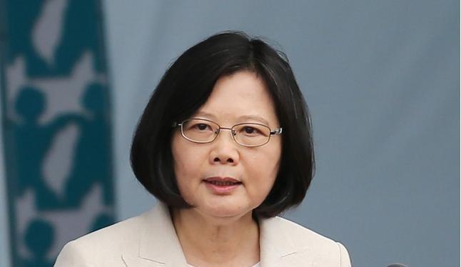 Nhà lãnh đạo Đài Loan, bà Thái Anh Văn. Ảnh: CNA