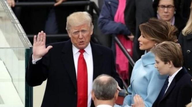 Ngày 20 tháng 1 năm 2017, ông Donald Trump nhậm chức, trở thành Tổng thống Mỹ thứ 45. Ảnh: Getty Images